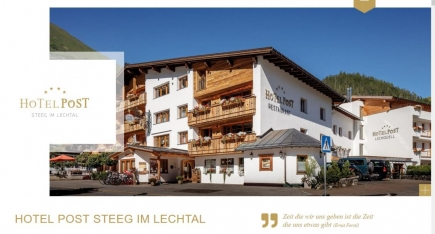 Hotel Post (Steeg im Lechtal)